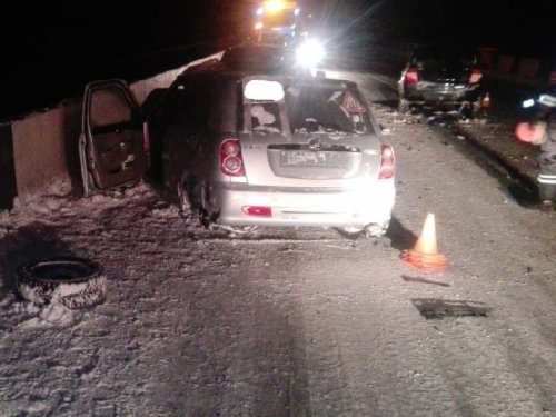 Неудачная буксировка: в Троицке пострадала женщина – водитель иномарки