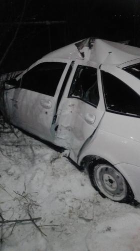 Понаставили столбов! В Троицке нетрезвый водитель наехал на опору ЛЭП.