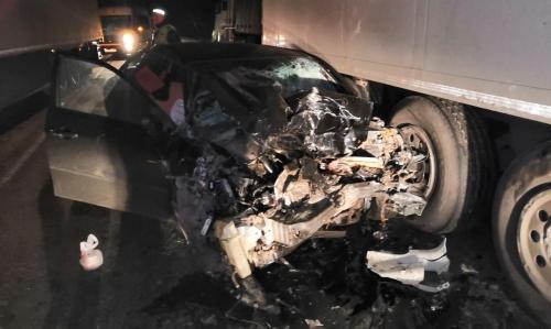 Столкновение автомобилей на автодороге Челябинск – Троицк. Один водитель погиб
